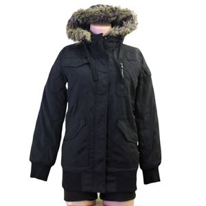 Divided by H&M fall winter coat with hood size 36